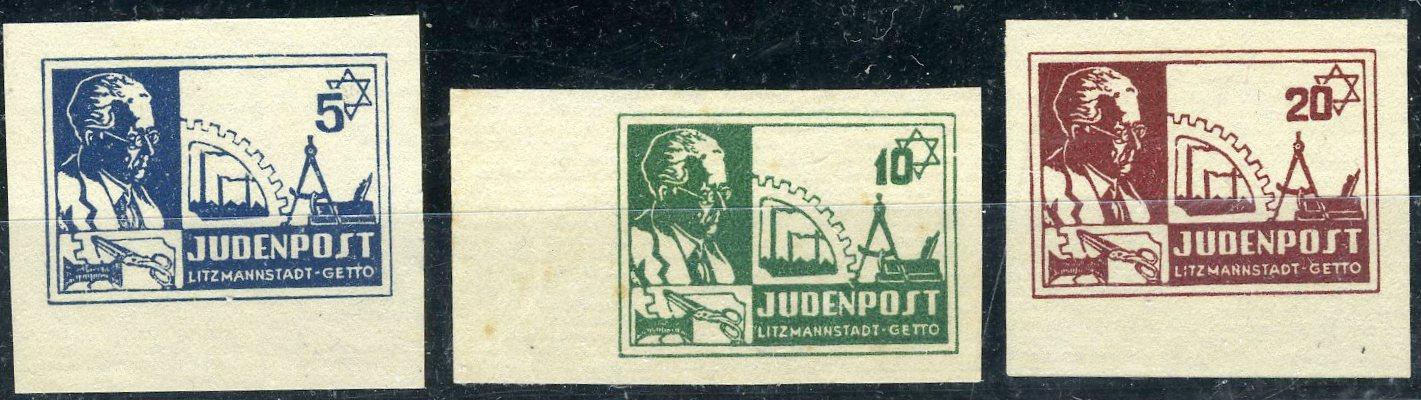 Lot 445 - HOLOCAUST (incl.  Ghettos & Camps)  -  Tel Aviv Stamps Ltd. Auction #46