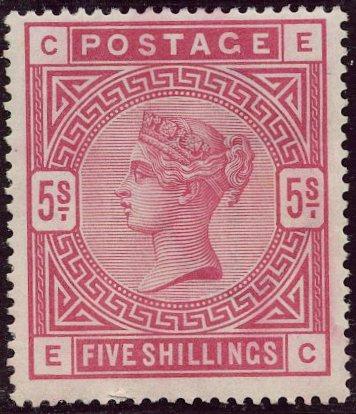 Lot 8 - Great Britain  -  Tel Aviv Stamps Ltd. Auction #47
