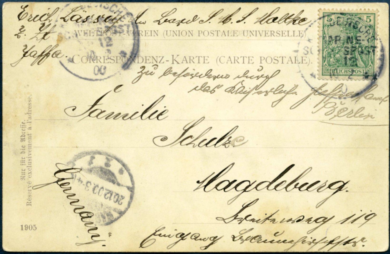 Lot 19 - GERMAN POST  -  Tel Aviv Stamps Ltd. Auction #48